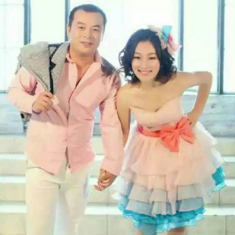 阿檬和赵湘君结婚照片