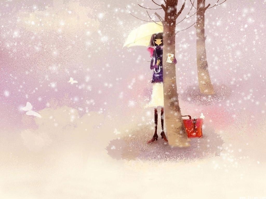 播音雪落凉晨