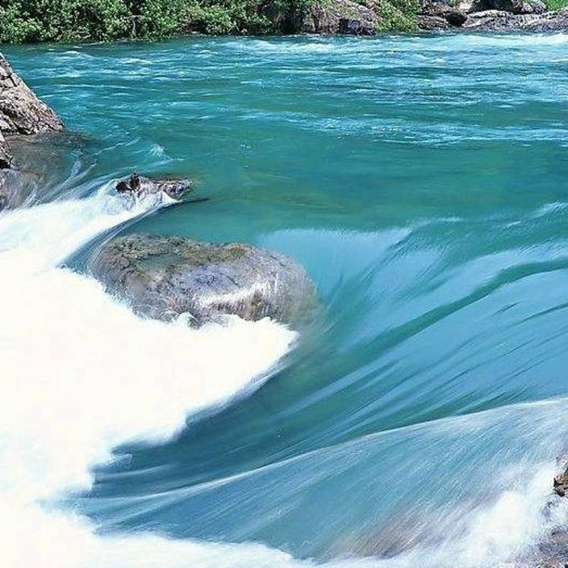 蓝色伏尔加河