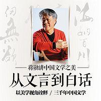 蒋勋讲中国文学:从文言到白话