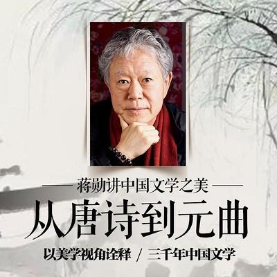 蒋勋讲中国文学:从唐诗到元曲