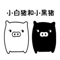 小白猪和小黑猪