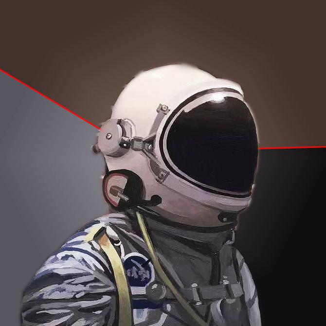 复古宇航员