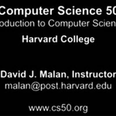 【英文】计算机科学cs50
