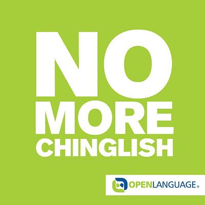 No More Chinglish