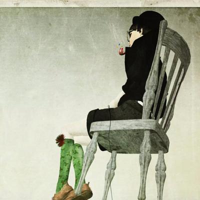 静静听,一个人的孤单心事。