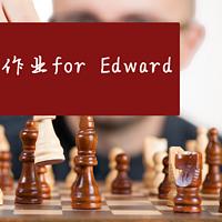 作业 for Edward