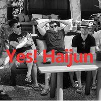 Yes! Haijun 听海军讲英语