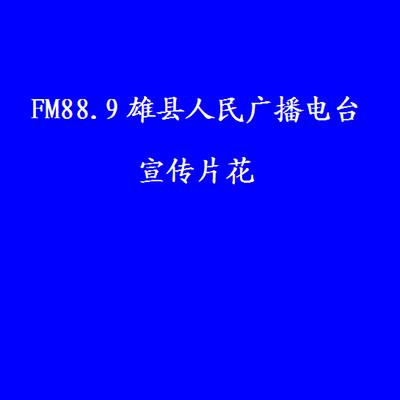 FM88.9雄县人民广播电台《宣传片花》