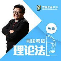 2017司法考试-课堂笔记-理论法-马峰
