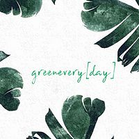 greenevery[day]bìchíbroadcast广播