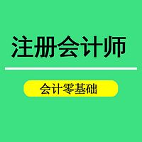 2018注册会计师入门课程-会计