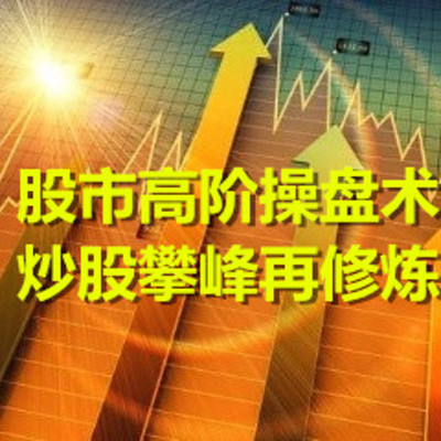 股市高阶操盘术|炒股攀峰再修炼