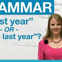 【eg酱英语语法】Learn English with Emma - 语法合集