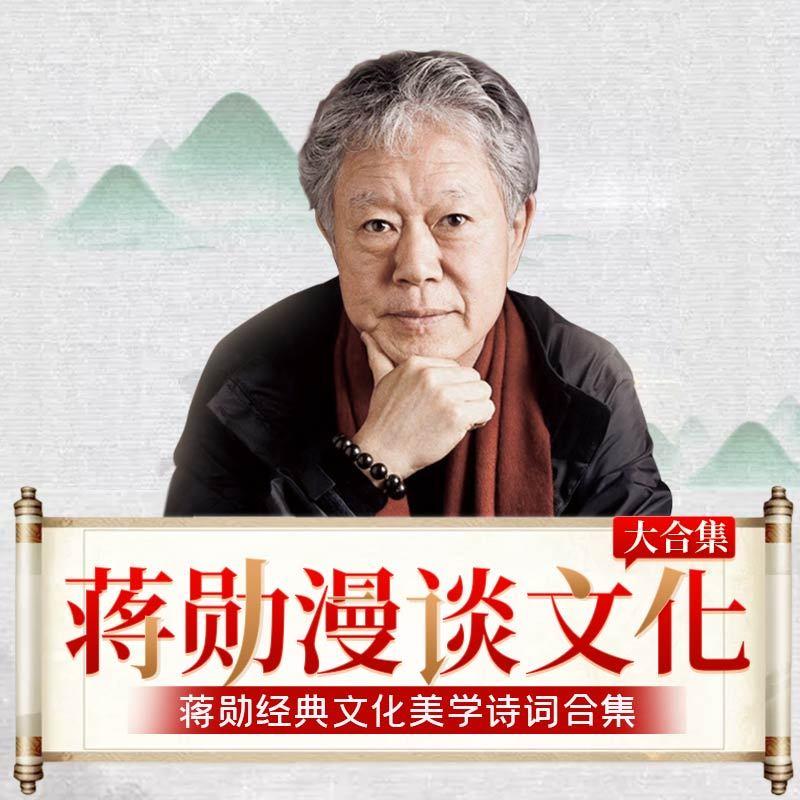 蒋勋漫谈文化大合集