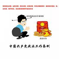中国共产党政法工作条例