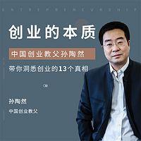 创业的本质:中国创业教父孙陶然带你洞悉创业的13个真相