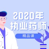 2020年执业药师精品课