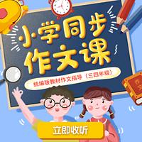 小学同步作文课(三四年级)