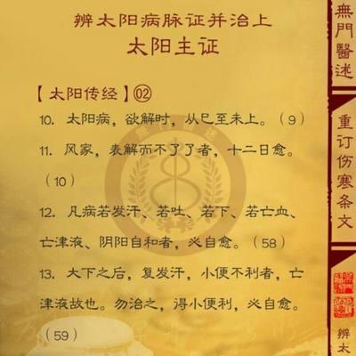 伤寒论条文398条(全)