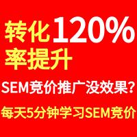每天5分钟学SEM竞价|效果提升120