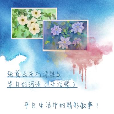 张翼飞流行诗歌5—岁月的河流(生活篇)