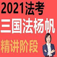 2021杨帆三国法精讲 2021年杨帆