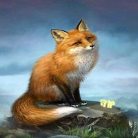 守护狐狸『独』