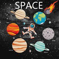 伦纳柏英文童书-Space星球系列