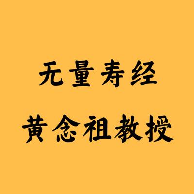 无量寿经  黄念祖教授