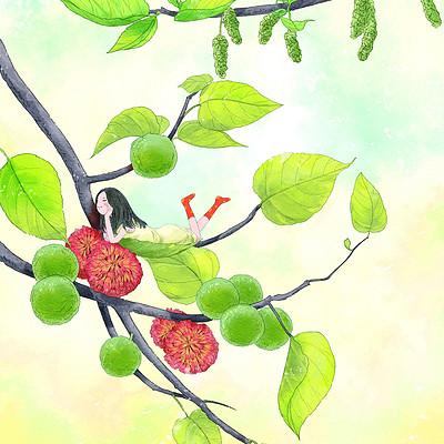 【晓月原创】《又见构树花》