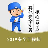 2019安全生产其他实务核心100点