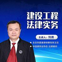 刘勇精讲建设工程合同纠纷
