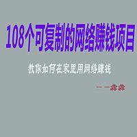 108个可复制的网络赚钱项目