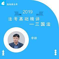 2019法考基础精讲三国法李毅