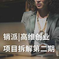 销派|高维创业项目拆解第二期