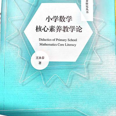 小学数学核心素养教学论——王永春