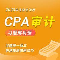 2020年注册会计师|CPA审计习题班