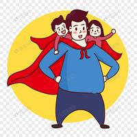 小小侠口袋里的超人老爸
