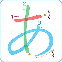 日语五十音图速记宝典