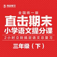 直击期末-小学语文提分课(三年级下)