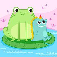美可玩故事|自信蛙成长记